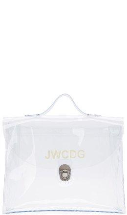 Junya Watanabe - Transparent 'JWCDG' Top Handle Bag