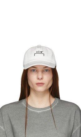 A-Cold-Wall* - White Classic Logo Cap