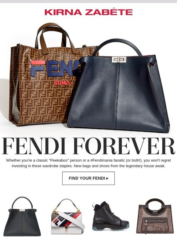 1447b7e25b Kirna Zabete  Find Your Fendi