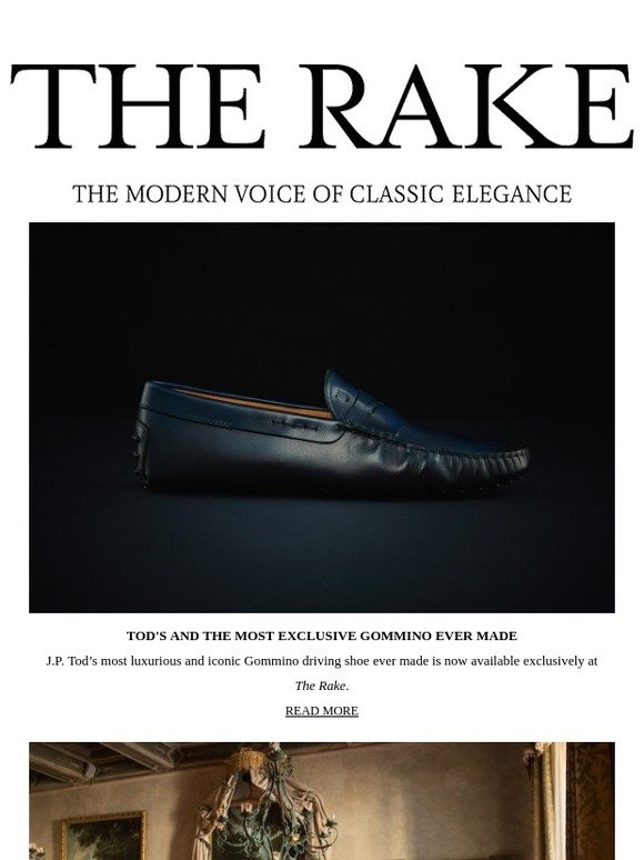 a0de0e0c1 The Rake: Tod's And The Most Exclusive Gommino Ever Made | Milled