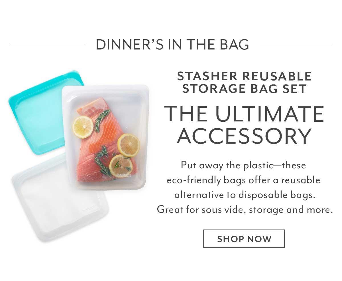 Stasher Reusable Storage Bag Set