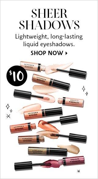 Shop Now Sheer Shadows