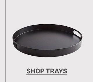 Shop trays.