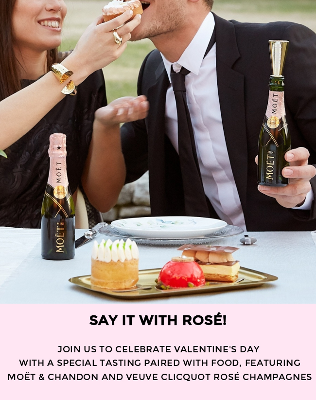 Say It With Rose! Join us to celebrate Valentine's Day!