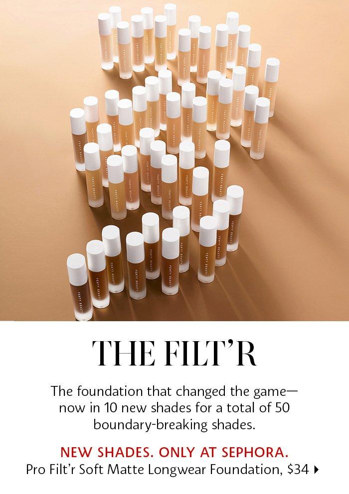 Fenty - Pro Filt'r Soft Matte Longwear Foundation