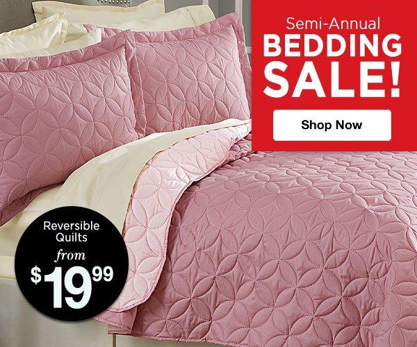 Shop Semi-Annual Bedding Sale!