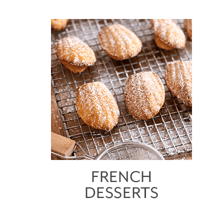 Class - French Desserts