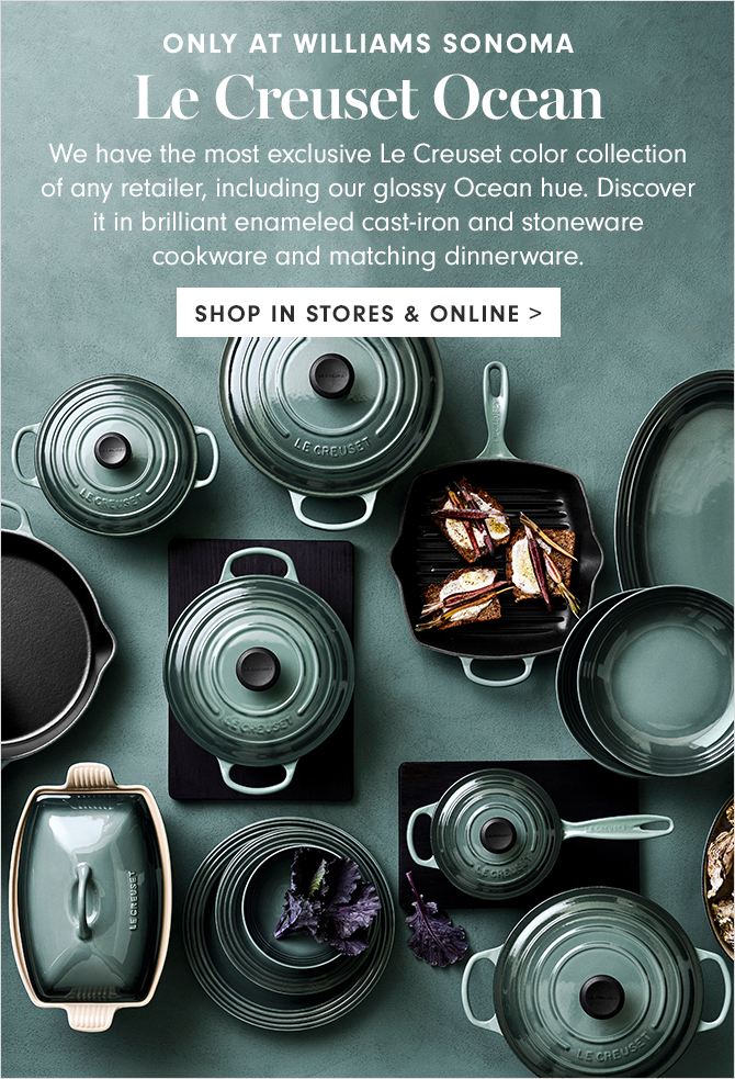 Højmoderne Williams-Sonoma: Exclusive Le Creuset Color Only at Williams BA-97
