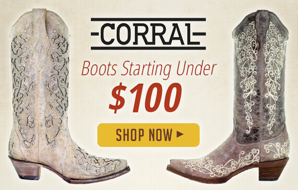 30b3b2e08b6 Sheplers: Save Up To 60% Off Corral Boots | Milled