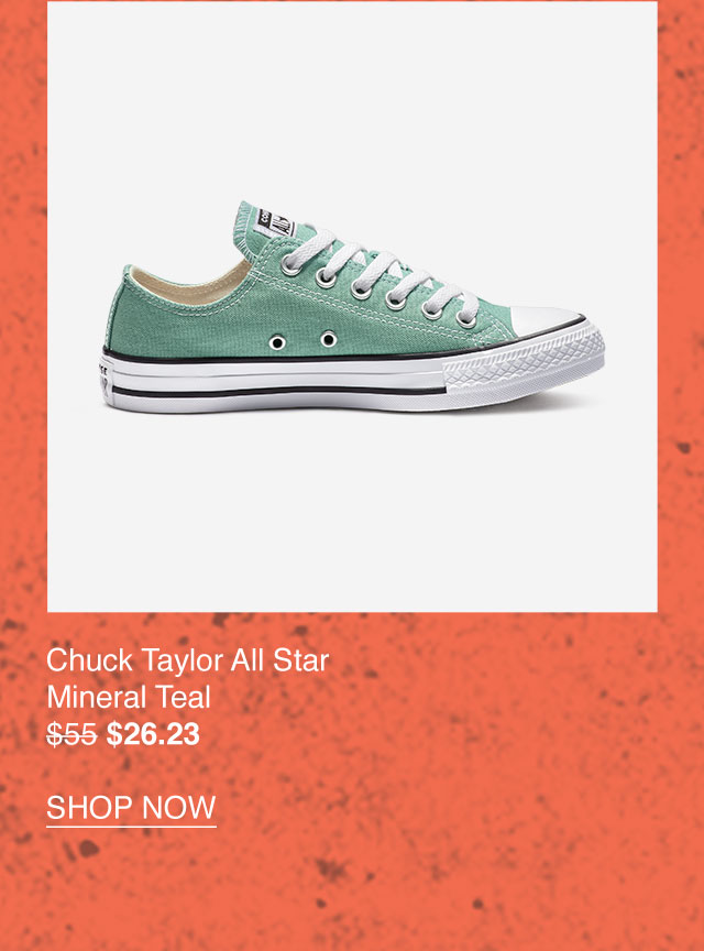 Chuck Taylor All Star Mineral Teal $26.23 - SHOP NOW
