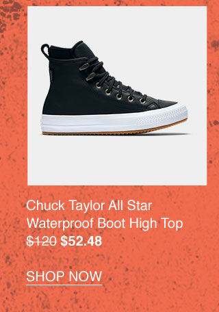 Chuck Taylor All Star Waterproof Boot High Top $52.48 - SHOP NOW