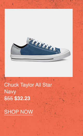 Chuck Taylor All Star Navy $32.23 - SHOP NOW