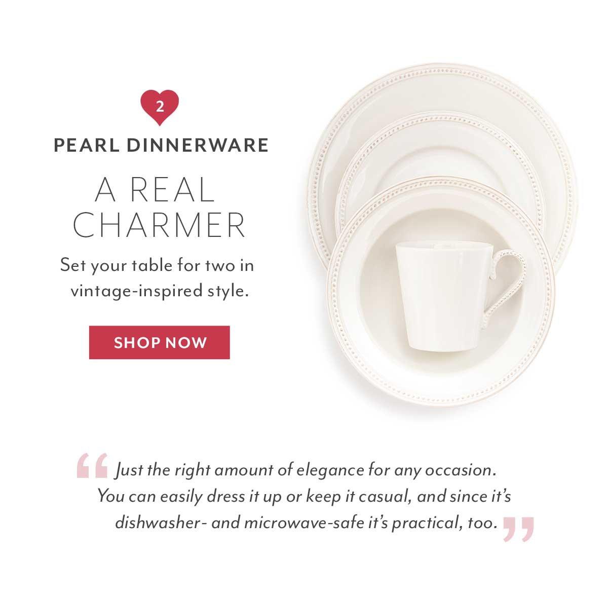 Pearl Dinnerware