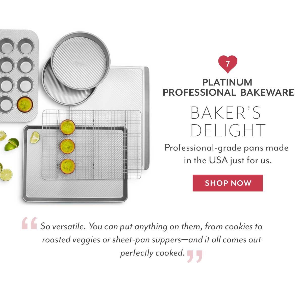 Platinum Professional Bakeware