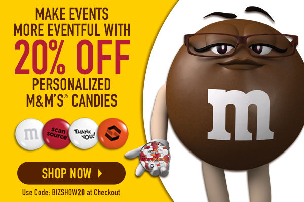 My M&M's: It's Not Just Business, It's Personal - Save 20