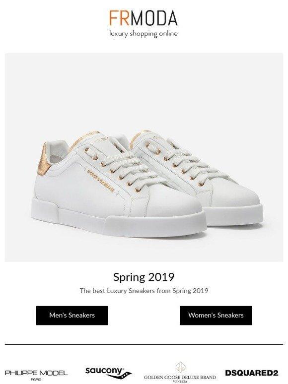 top luxury sneakers 2019