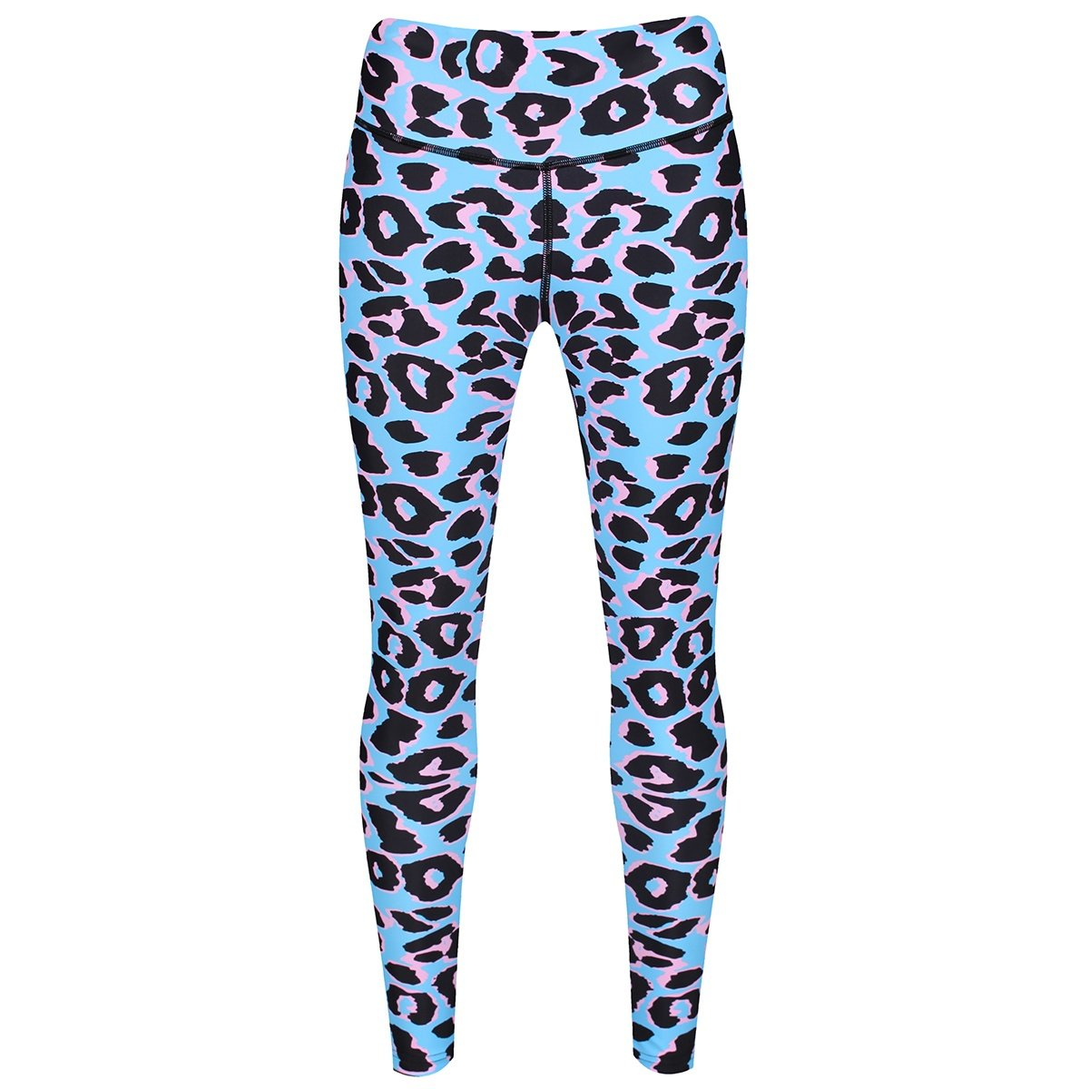 Baby Blue Leopard Leggings