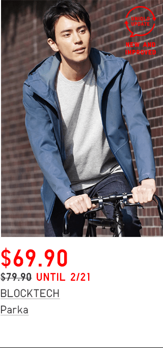 BLOCKTECH SOUTIEN COLLAR COAT $89.90