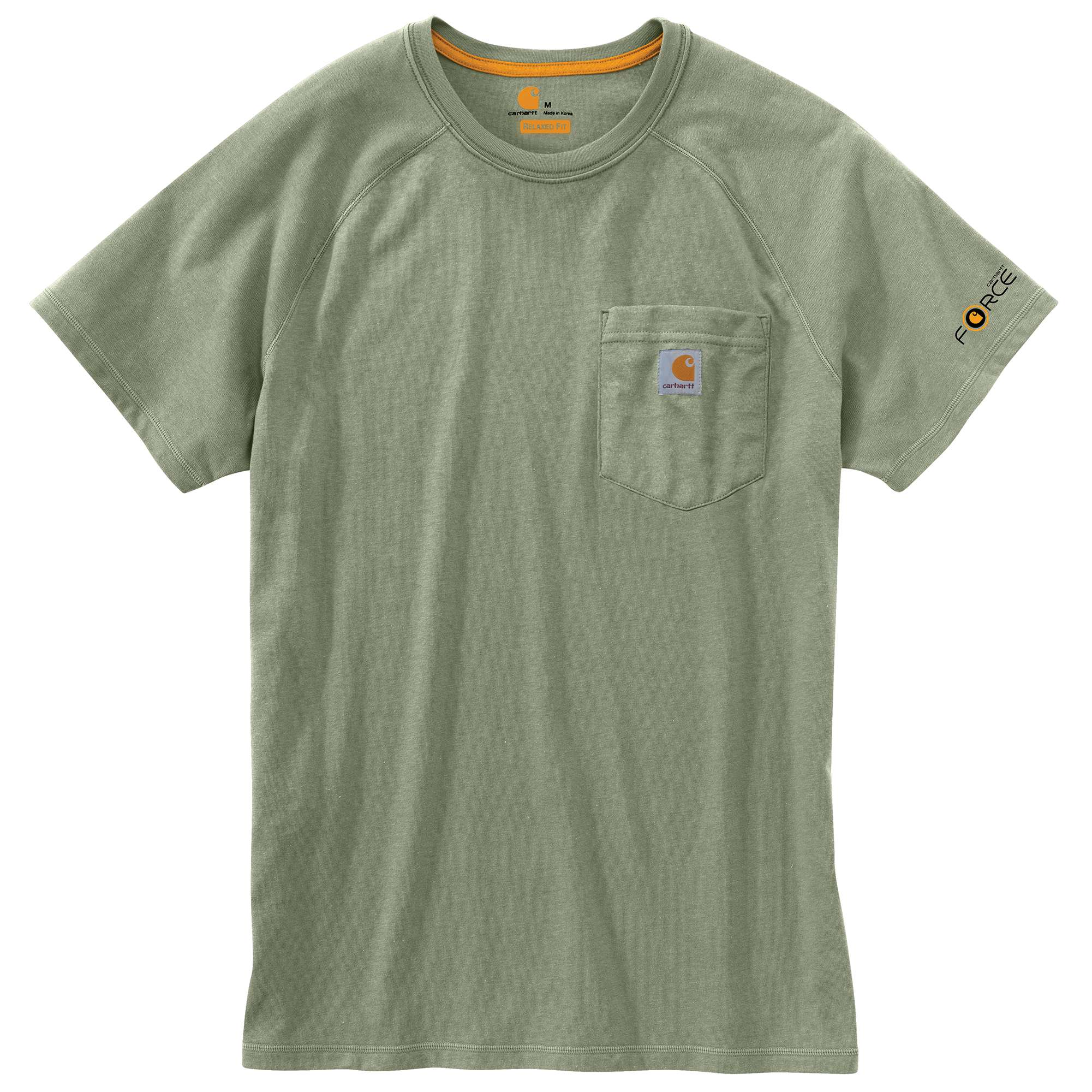 MEN'S FORCE® COTTON DELMONT SHORT-SLEEVE T-SHIRT