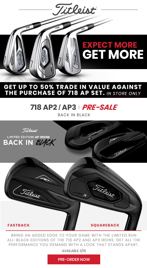 Edwin Watts Golf: 🚨NOW AVAILABLE | New 2019 TaylorMade TP5 Series