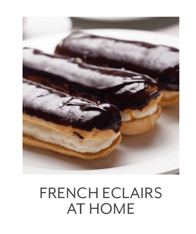 Class - French Eclairs At Home
