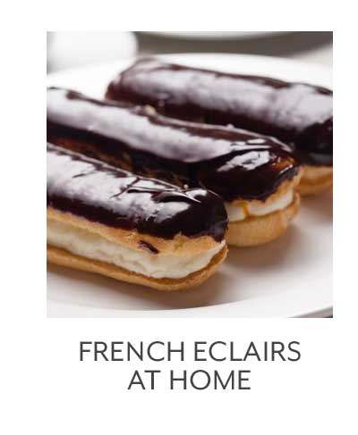 French Eclairs At Home