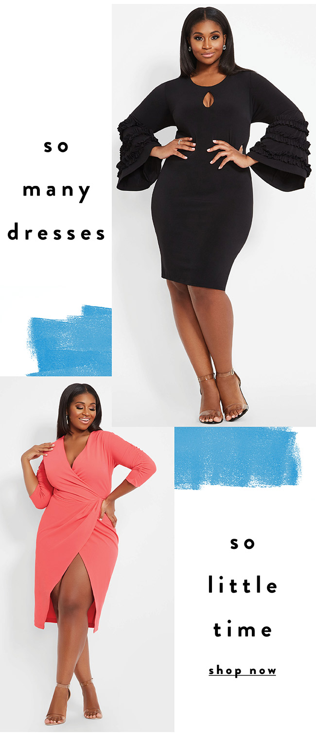 So many dresses. So little time - Shop Now