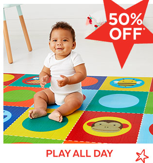 50% off* | Play all day