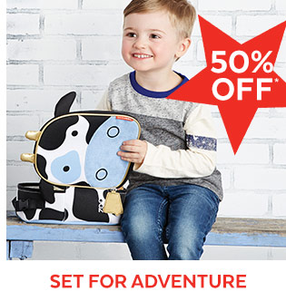 50% off* | Set for adventure