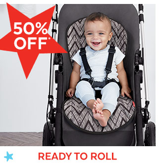 50% off* | Ready to roll