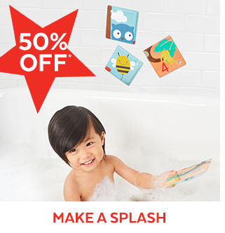 50% off* | Make a Splash