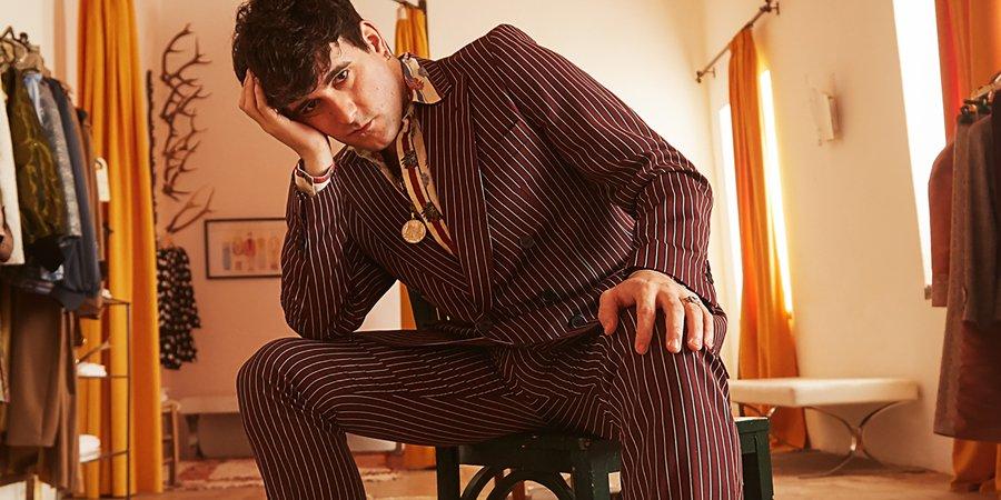 Palomo Spain Designs Menswear Fit for Queens