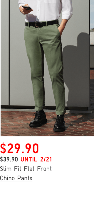 EZY TUCKED ANKLE-LENGTH PANTS $29.90
