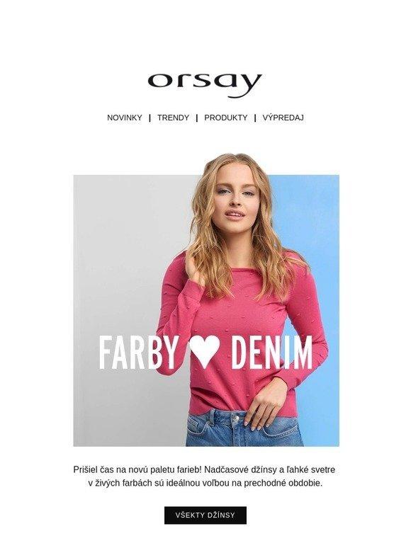 92a9c0e775e1 Orsay  Farebné džínsy ... 🖌