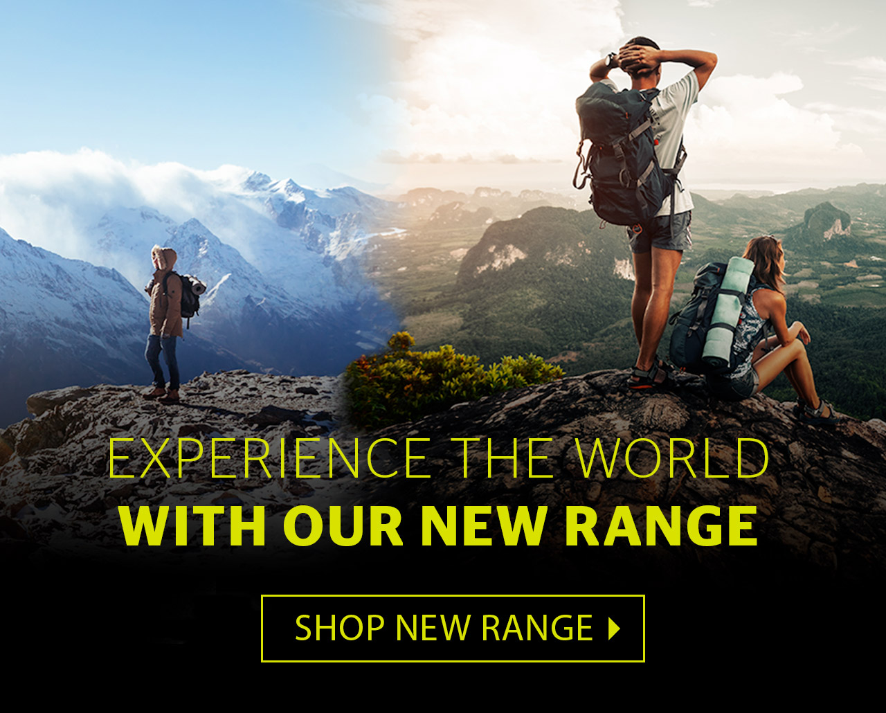 New walking range  Experience the world with your favourite outdoor brands f09f805d2