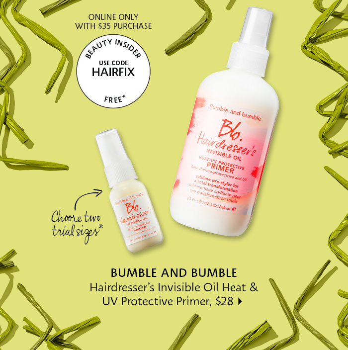 Bumble and Bumble - Hairdresser's Invisible Oil Heat & UV Protective Primer