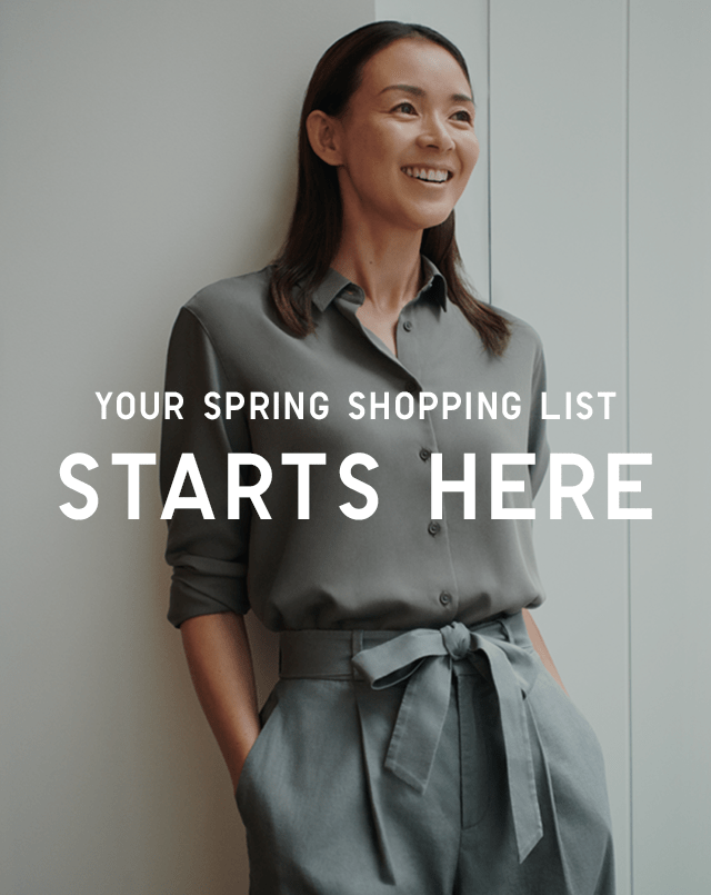 YOUR SPRING SHOPPING LIST STARTS HERE