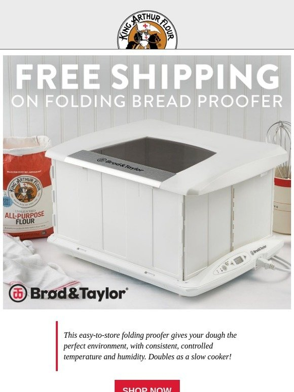 King Arthur Flour: Hours Left for Free Shipping on Our Top
