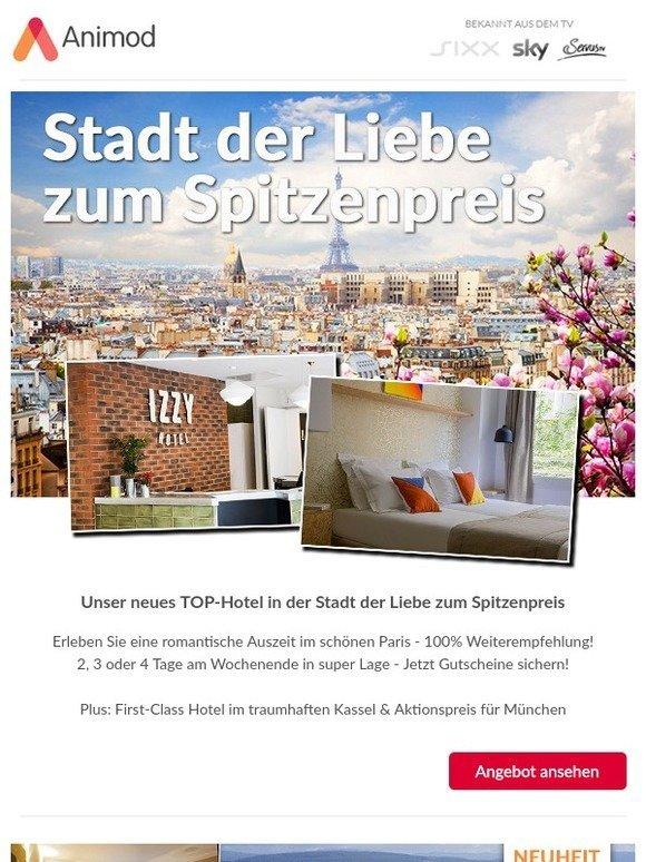 Animod De Knallerdeal Neues Hotel In Paris Zum Spitzenpreis Plus