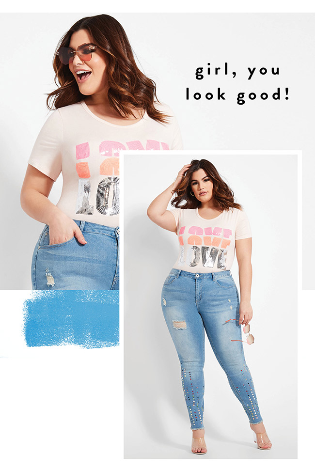Girl you look good - Shop Now
