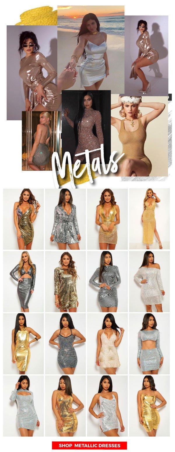 Shop Metallic Styles