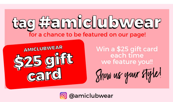 Tag us for a chance to win $25 gift card