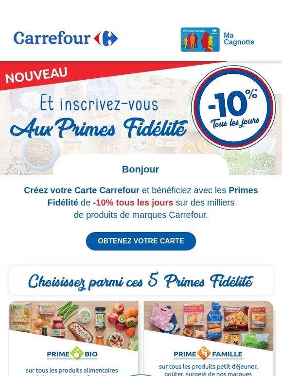 Carte Fidelite Carrefour Ooshop.Ooshop Carrefour 10 Tous Les Jours Avec La Carte