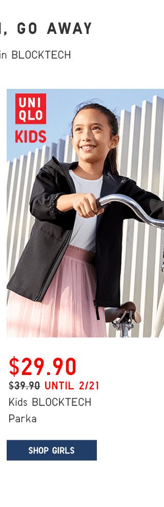 KIDS BLOCKTECH PAKA $29.90 - SHOP GIRLS
