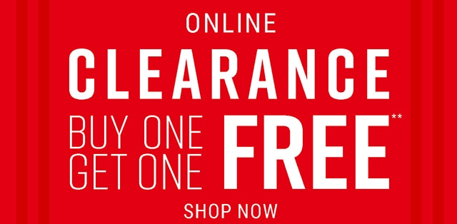 Online Clearance Buy One Get One Free