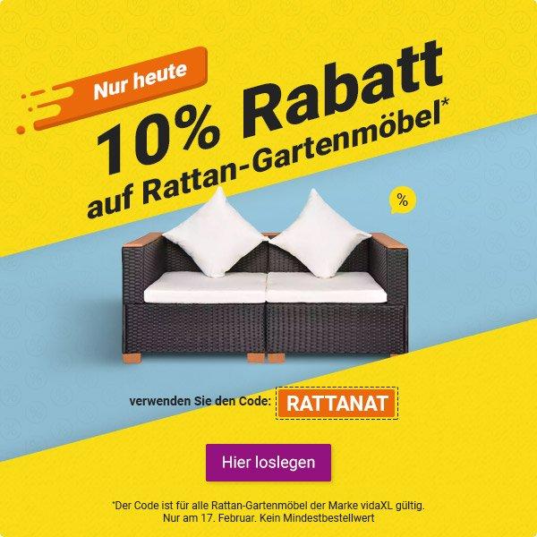 Vidaxlat Flash Verkauf Nur 24 Stunden Rattan Gartenmöbel