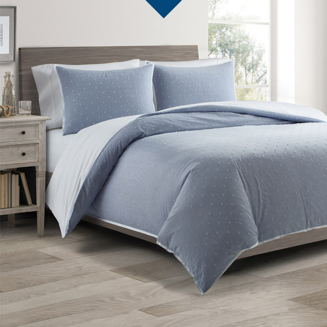Real Simple® Coverlet and Duvet Cover Sets