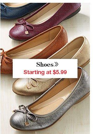 Shop Women's Shoes!