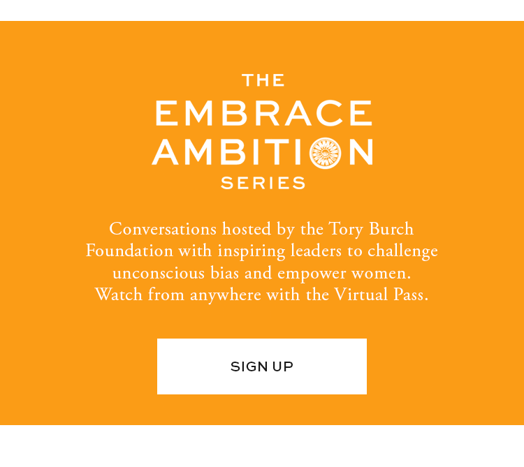 The Embrace Ambition Series - sign up