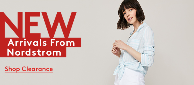 New Arrivals From Nordstrom | Shop Clearance
